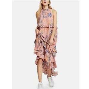 NWTA Free People Mauve maxi dress